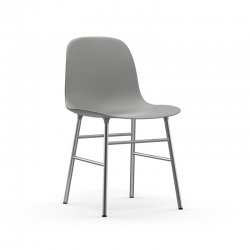 Chaise FORM CHAIR piètement chrome Normann Copenhagen