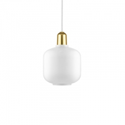 Lampe Suspension AMP laiton Small Normann Copenhagen