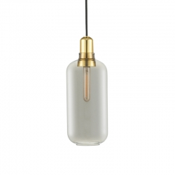 Lampe Suspension AMP laiton Large Normann Copenhagen