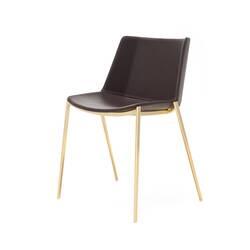 Chaise AÏKU SOFT pieds coniques MDF