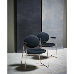 Petit Fauteuil Baxter made in italy GEMMA