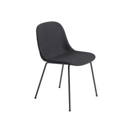 Chaise FIBER CHAIR 4 pieds acier coque tissu MUUTO