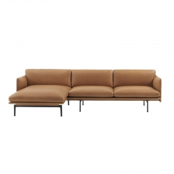 Canapé OUTLINE Chaise longue MUUTO