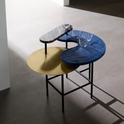 Table d'appoint guéridon And tradition PALETTE JH8