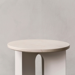 Table d'appoint guéridon Menu ANDROGYNE