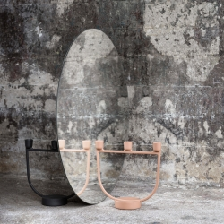 Photophore, bougeoir et bougie Muuto Chandelier OPEN
