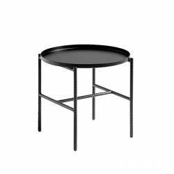 Table d'appoint guéridon REBAR Ø 45 HAY