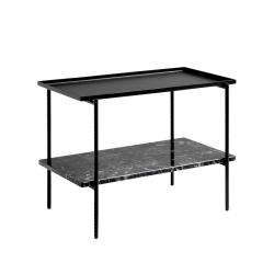 Table d'appoint guéridon Hay REBAR 75x44