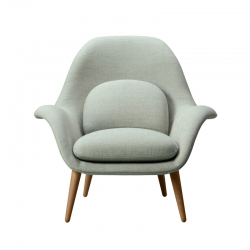 Fauteuil SWOON LOUNGE FREDERICIA