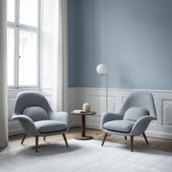 Fauteuil Fredericia SWOON LOUNGE