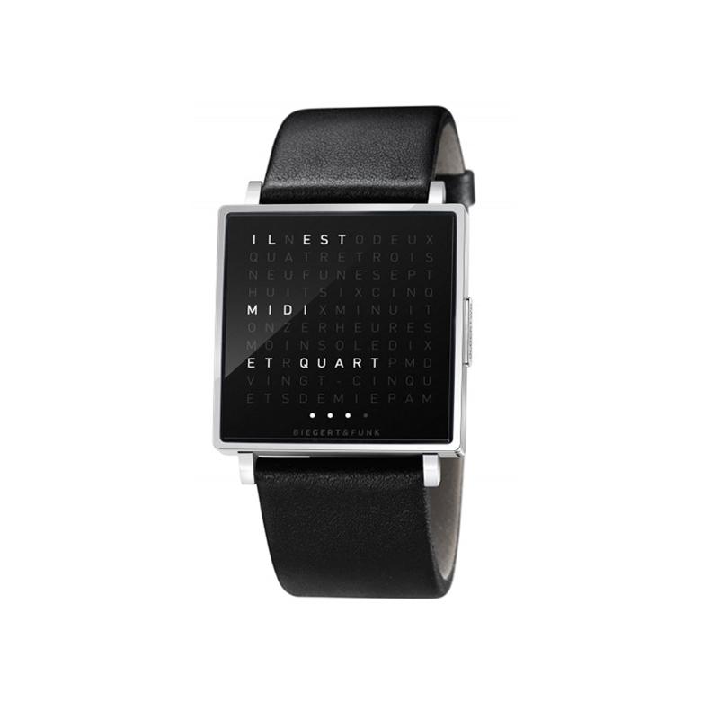 Horloge Qlocktwo Montre QLOCKTWO W Polished