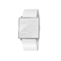 Horloge Montre QLOCKTWO W Snowflake QLOCKTWO