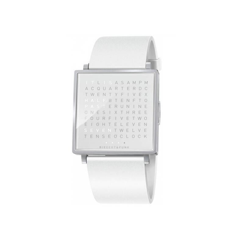 Horloge Qlocktwo Montre QLOCKTWO W Snowflake