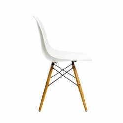 Chaise EAMES PLASTIC CHAIR DSW blanche - Quickship VITRA