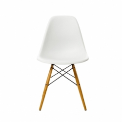 Chaise Vitra EAMES PLASTIC CHAIR DSW blanche - Quickship