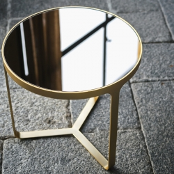 Table d'appoint guéridon Tacchini CAGE