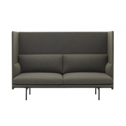 Canapé OUTLINE HIGHBACK 2 places MUUTO