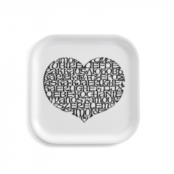 Plateau CLASSIC TRAY International Love Heart VITRA