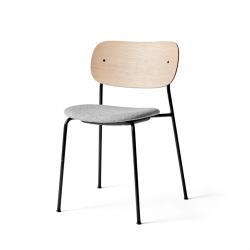 Chaise CO CHAIR assise tissu MENU