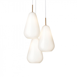 Lampe Suspension ANOLI 3 OPAL NUURA