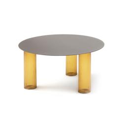 Table d'appoint guéridon ECHINO Ø68 ZANOTTA