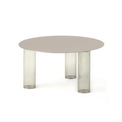 Table d'appoint guéridon Zanotta ECHINO Ø68