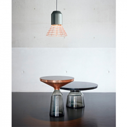 Table d'appoint guéridon Classicon BELL SIDE COPPER