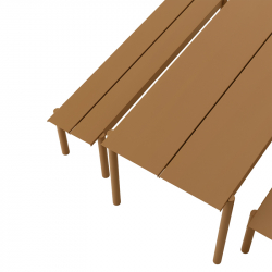 Table Muuto LINEAR Outdoor