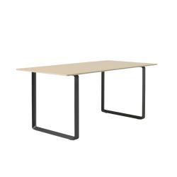 Table Muuto 70/70 Chêne