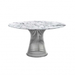 Table PLATNER Ø 135 Marbre KNOLL