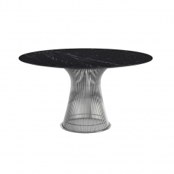 Table Knoll PLATNER Ø 135 Marbre