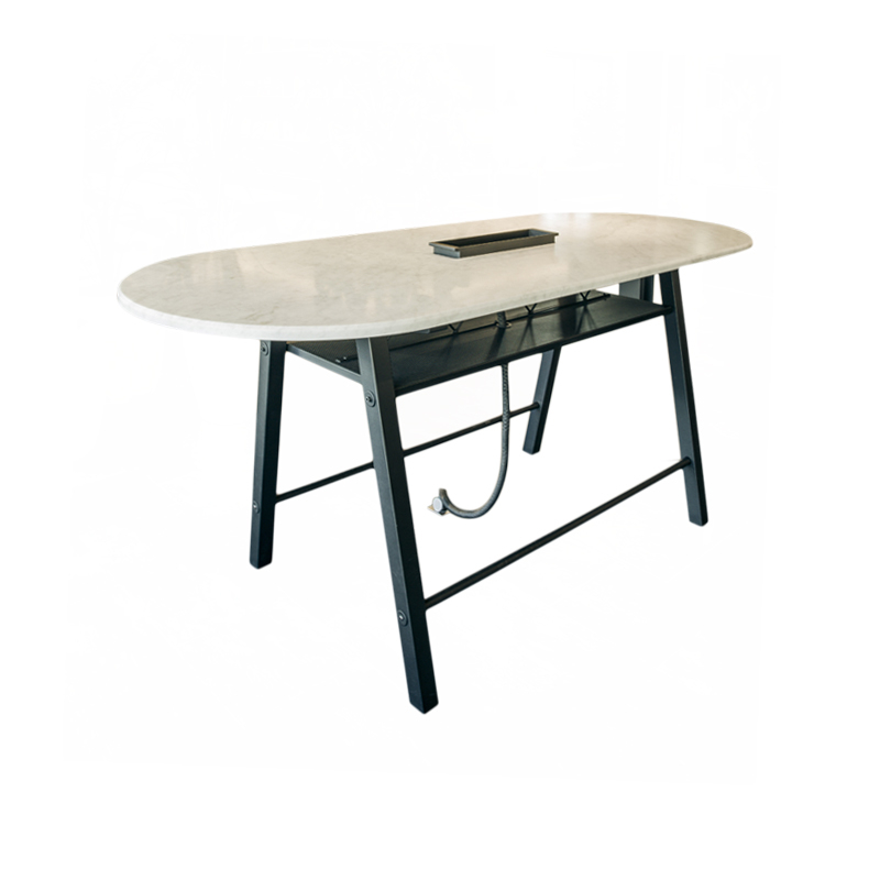 Table haute WILSON ovale