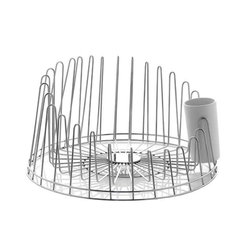 Accessoire & ustentile Alessi Egouttoir à vaisselle A TEMPO