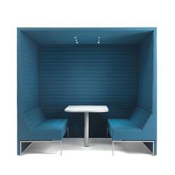 Box de réunion STRIPES BOX avec toit MARELLI