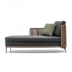 Canapé Méridienne TAPE CORD OUTDOOR MINOTTI