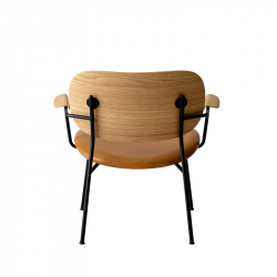 Fauteuil Menu CO LOUNGE CHAIR assise cuir