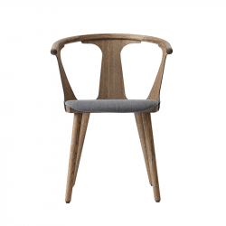 Petit Fauteuil IN BETWEEN SK2 assise tissu AND TRADITION
