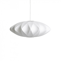 Lampe Suspension NELSON SAUCER CRISSCROSS BUBBLE HAY