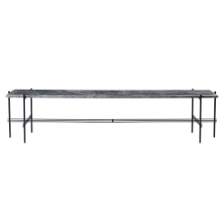 Table d'appoint guéridon TS CONSOLE 180x40 GUBI