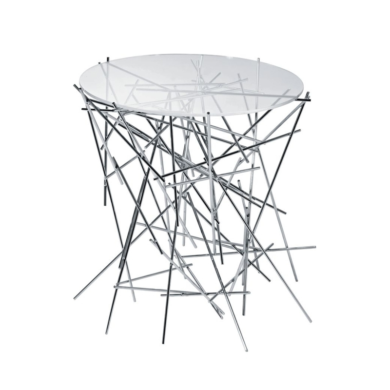 Table d'appoint guéridon Alessi BLOW UP