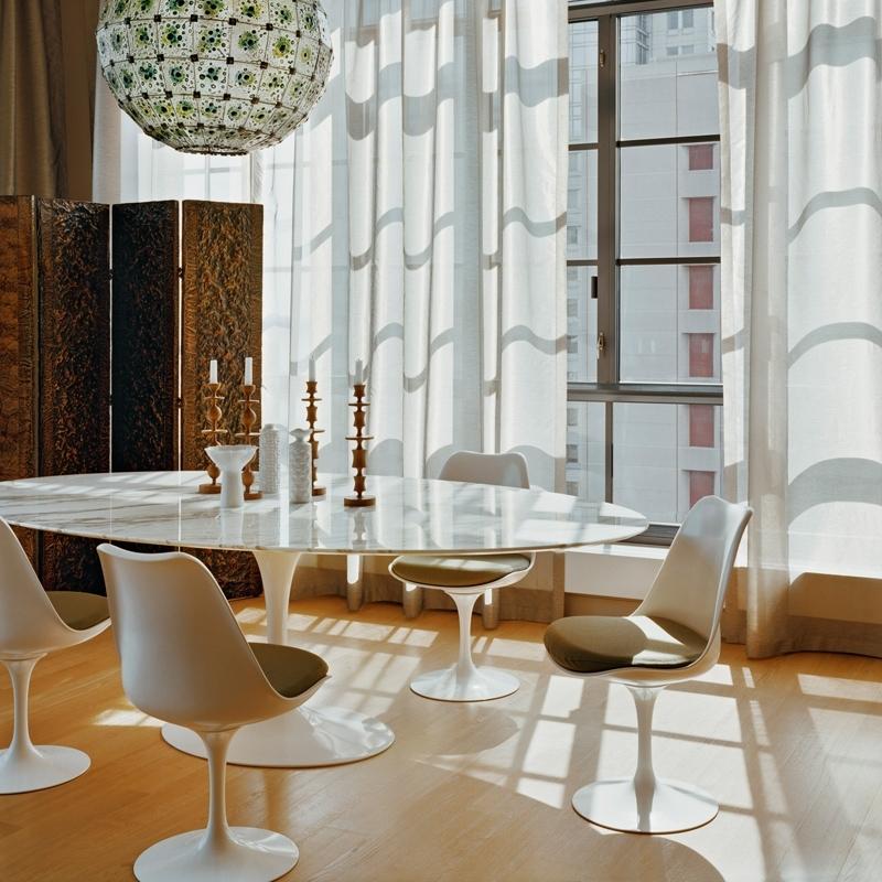 Tulip Chair Chaise Knoll