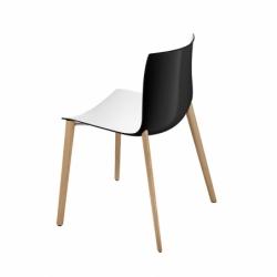 Chaise CATIFA 46 pieds bois ARPER