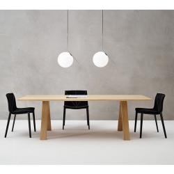 Table Arper CROSS 240x100 chêne