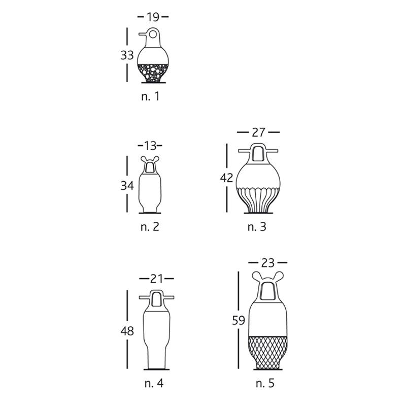 Vase SHOWTIME 3