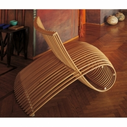 Fauteuil Cappellini WOODEN CHAIR