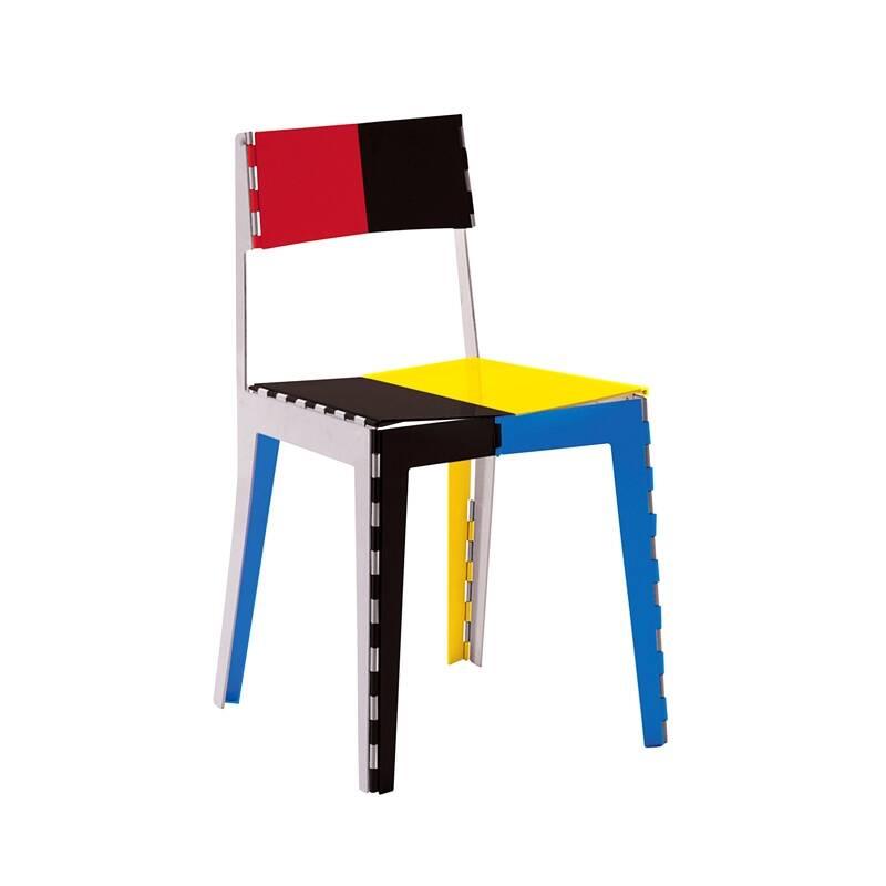 Chaise Cappellini STITCH multicolore