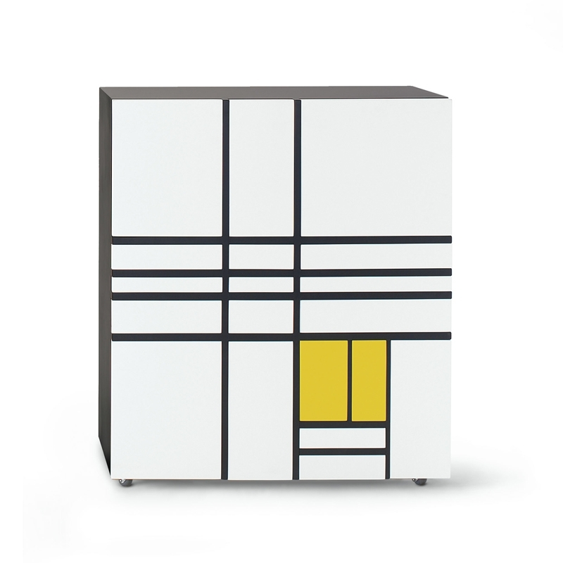 HOMAGE TO MONDRIAN 1
