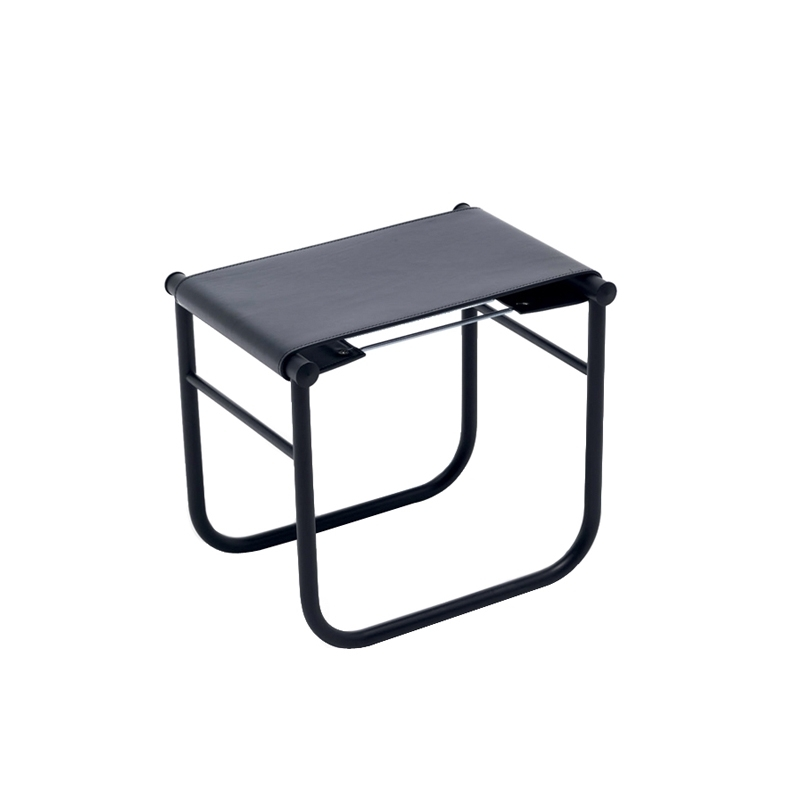 Tabouret Cassina LC9 Cuir