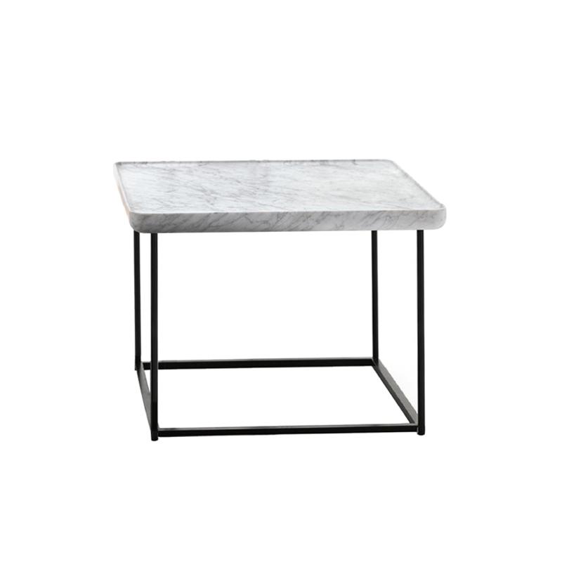 Torei Carr E 61x61 H 41 Marbre Table Basse Cassina Silvera