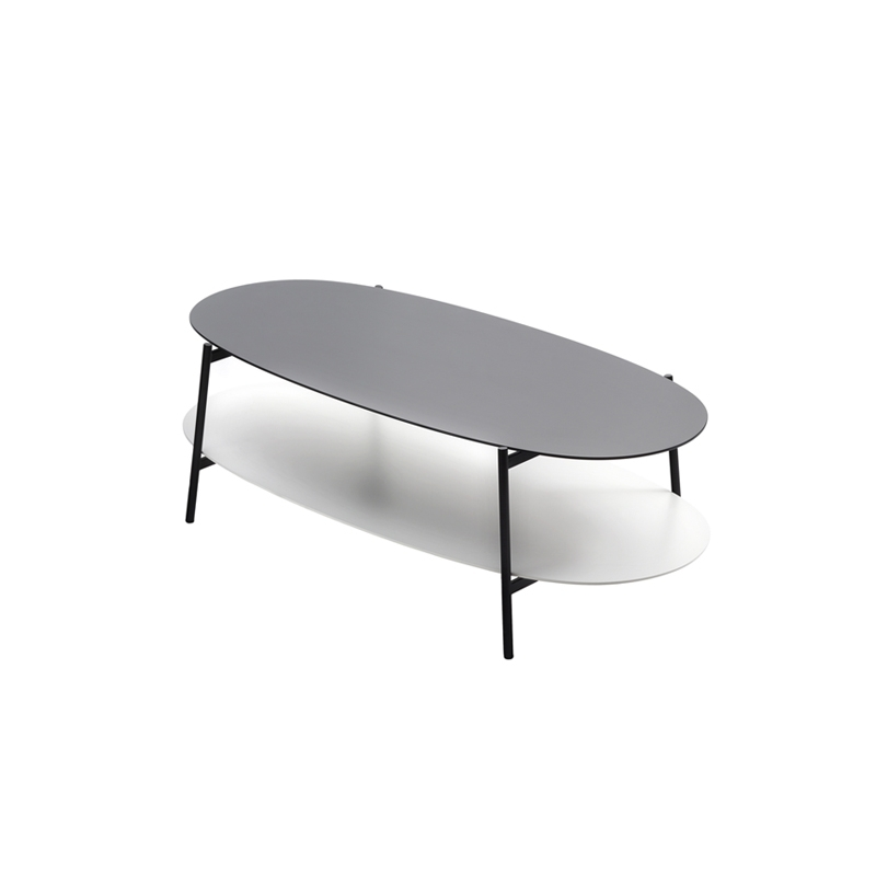 table basse shika l 110 pi tement noir coedition silvera. Black Bedroom Furniture Sets. Home Design Ideas